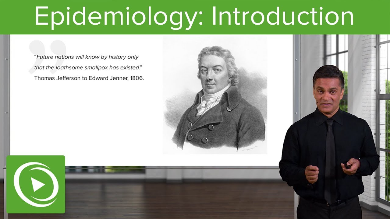 Introduction to Epidemiology: History, Terminology & Studies | Lecturio
