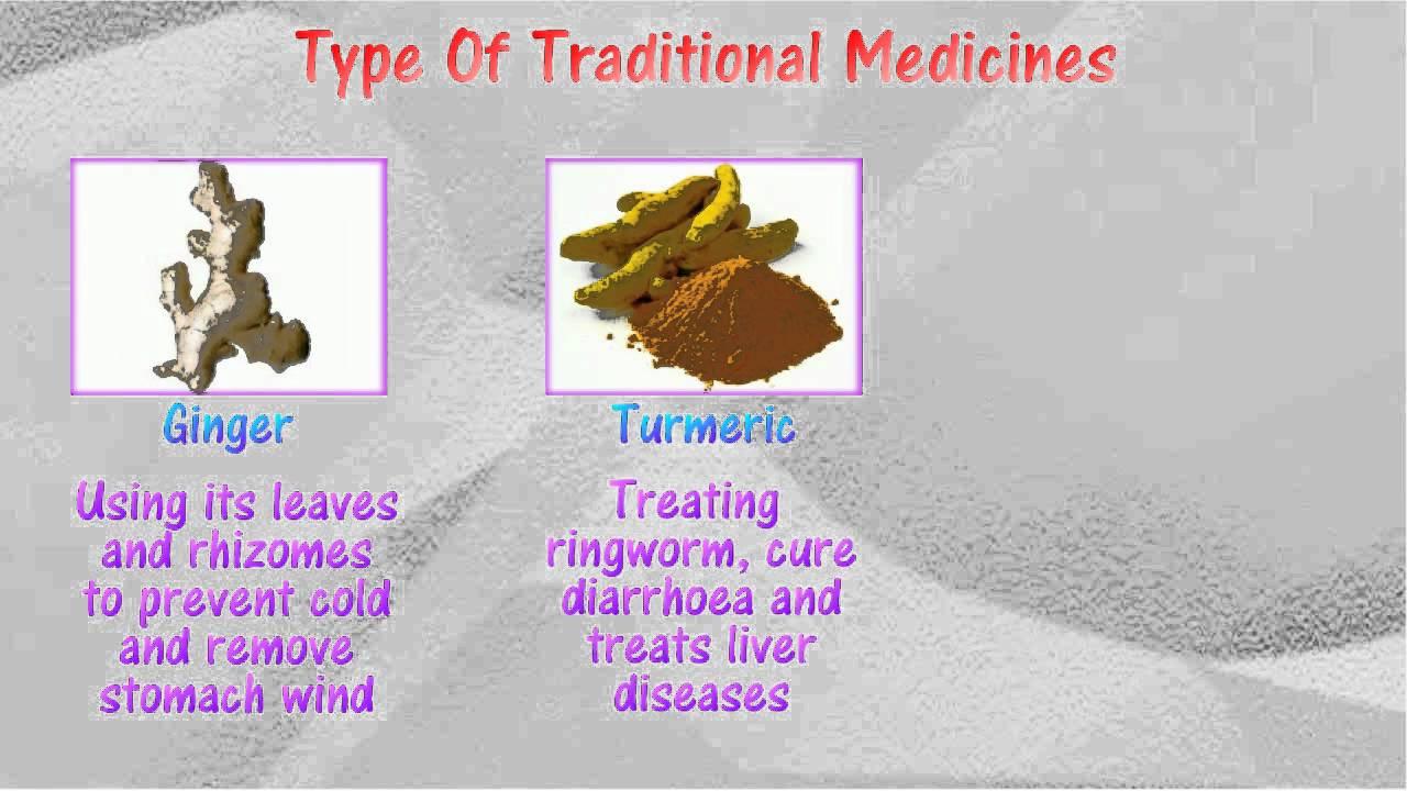 [5.3] Traditional medicine