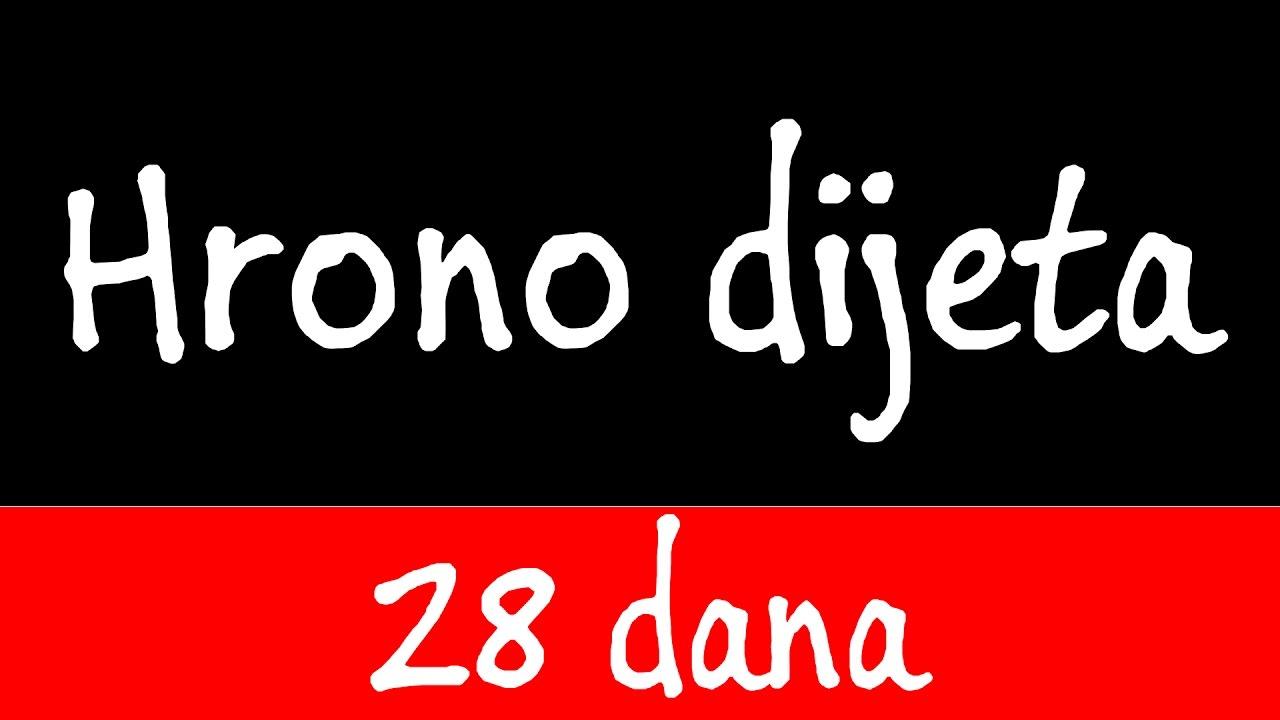 EKSPERIMENT: Hrono dijeta - 28 dana