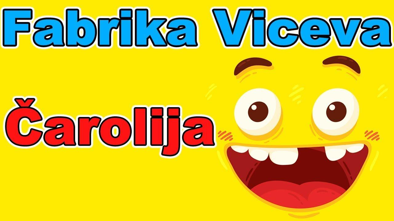 Fabrika Viceva - Čarolija | Smeh do suza | Najbolji vicevi | Smešni vicevi | Zabava | Humor | Smesno