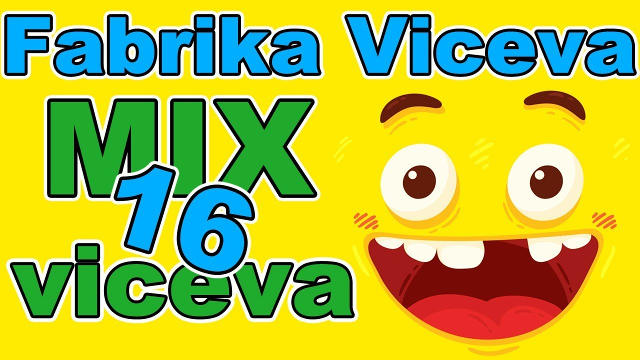 Fabrika Viceva - MIX viceva 16 | Smeh do suza | Najbolji vicevi | Smešni vicevi | Zabava | Smesno