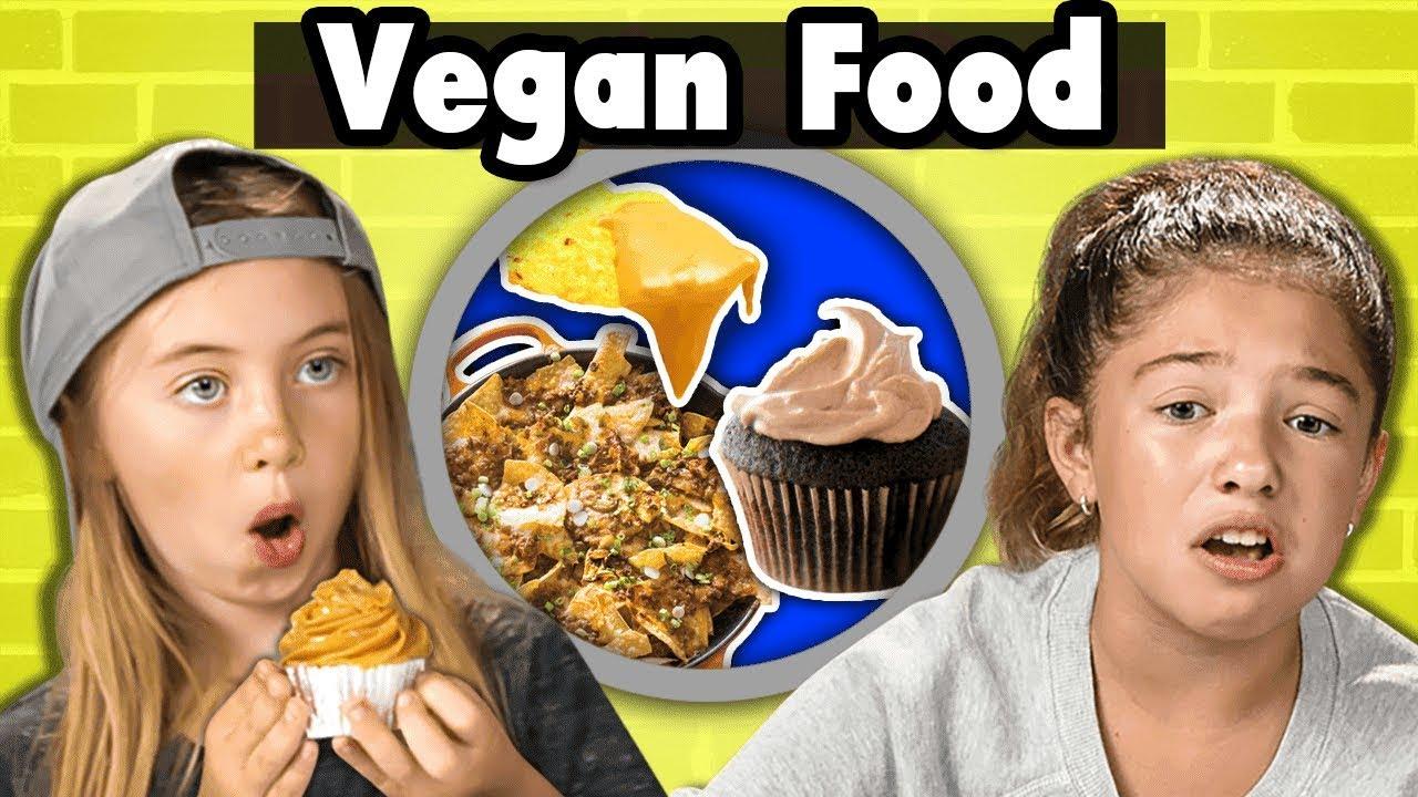 Do Kids Like Vegan Food? | Kids Vs. Food
