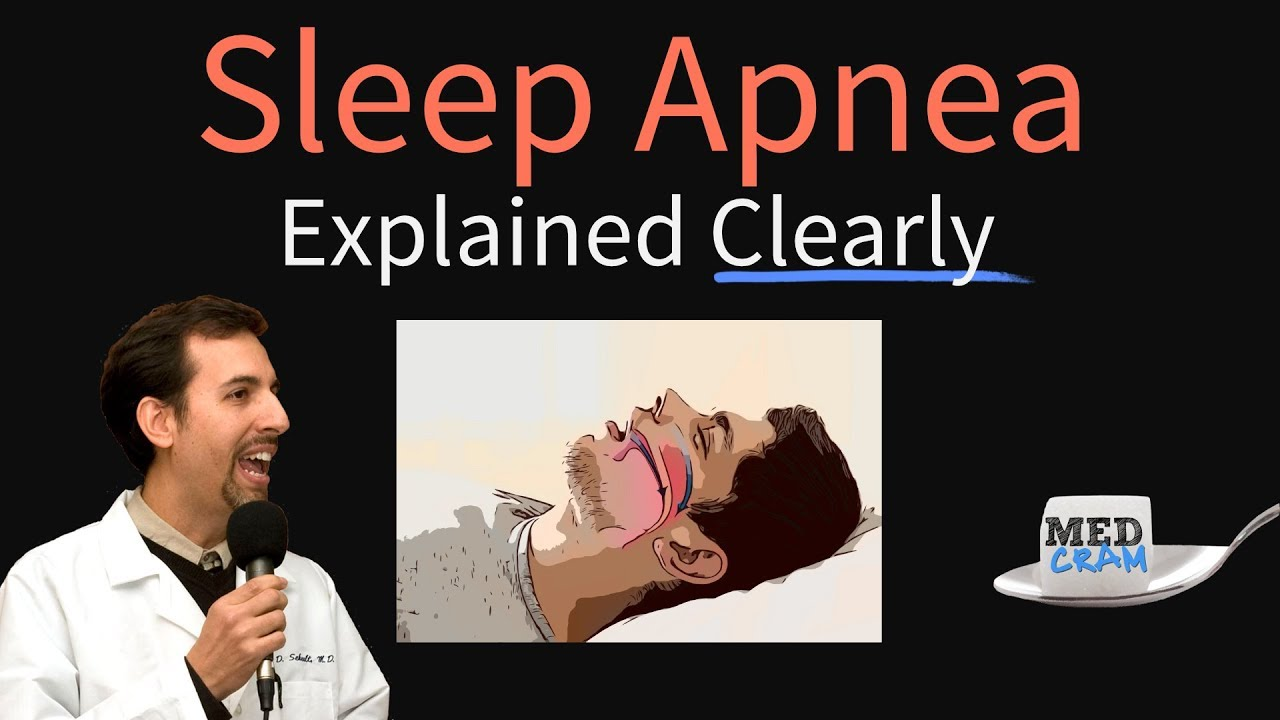 Obstructive Sleep Apnea Explained Clearly - Pathophysiology, Diagnosis, Treatment