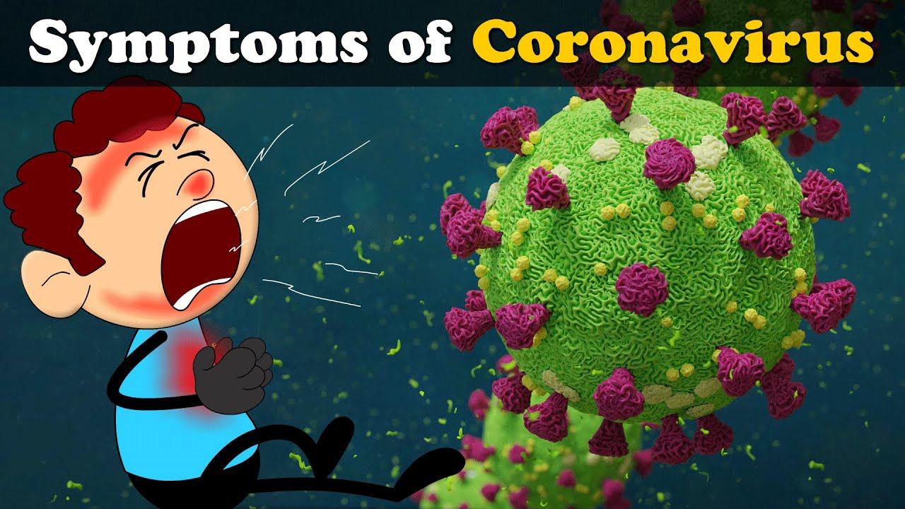 Symptoms of Coronavirus | COVID-19 | #aumsum #kids #science #education #children