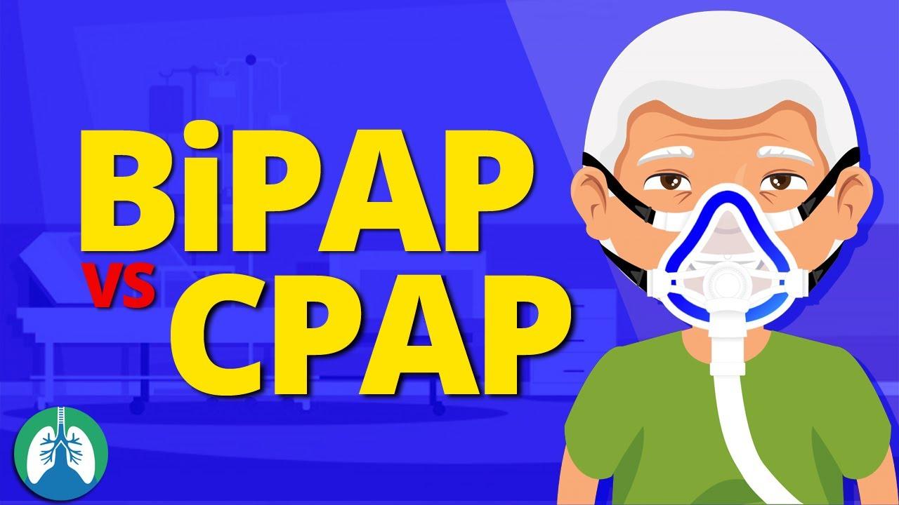 BiPAP vs CPAP (Made Easy) | Noninvasive Positive Pressure Ventilation (NPPV)