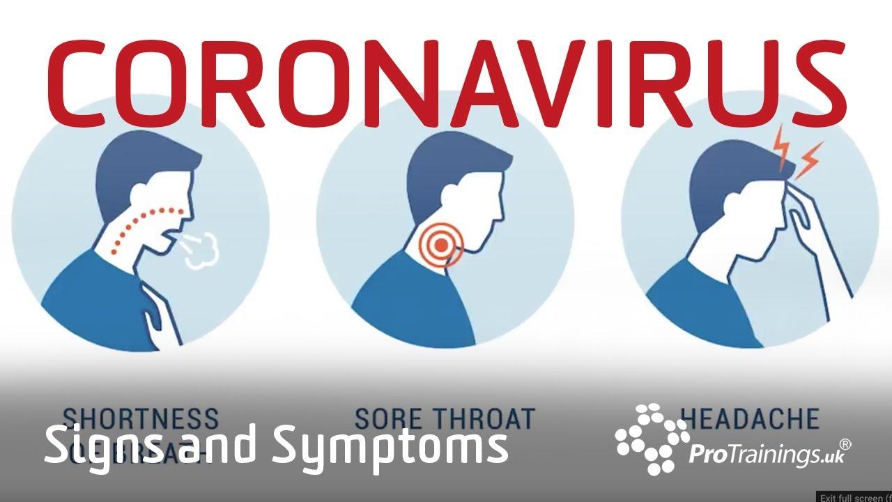 Coronavirus Signs and Symptoms