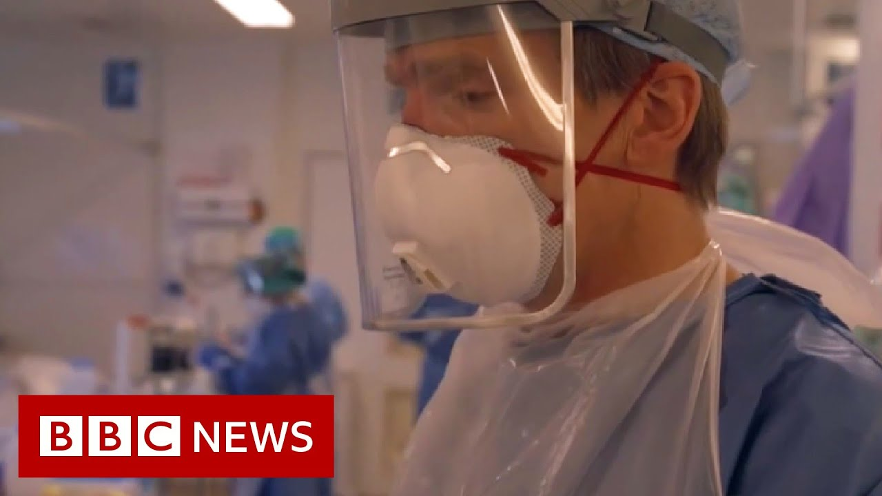 Coronavirus intensive care: inside a London hospital as doctors fight to save lives - BBC News