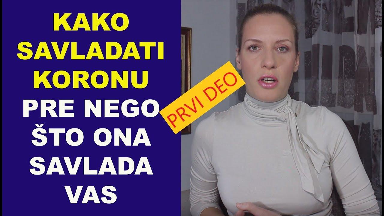 Kako savladati koronu pre nego što ona savlada vas/#1/dr Bojana Mandić