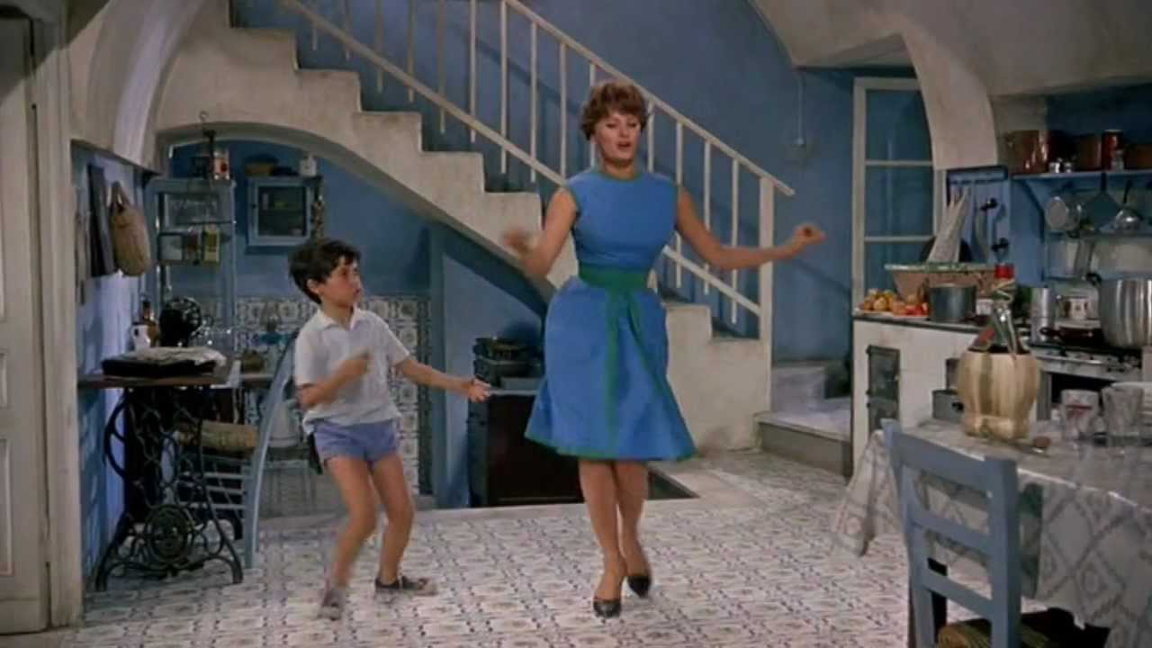 Sophia Loren & americano